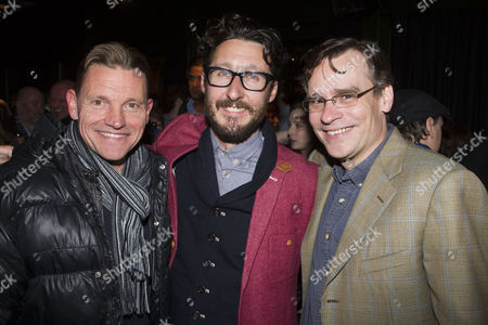 Michael McKell, Timothy Sheader (Director) and Robert Sean Leonard (Atticus Finch)