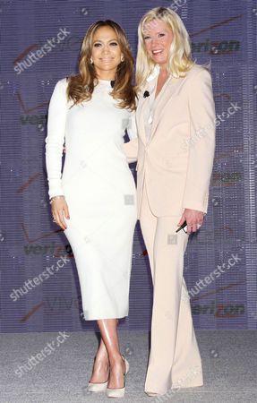 Editorial image of Jennifer Lopez and Verizon Wireless announce Viva Movil by Jennifer Lopez, Las Vegas, America - 22 May 2013
