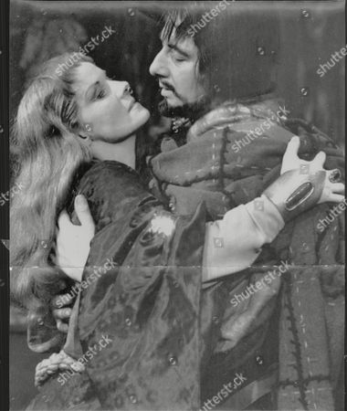Actress Ann Todd During Rehearsals With Actor Paul Rogers For Her Shakespearean Debut As Lady Macbeth At The Old Vic Dorothy Anne Todd (24 January 1909 Oo 6 May 1993) Was An English Actress And Producer. She Was Born In Hartford Cheshire And Was Educated At St. Winifrid's School Eastbourne Sussex. She Became A Popular Actress From Appearing In Such Films As Perfect Strangers (1945) (as A Nurse) And The Seventh Veil (1945) (as A Troubled Concert Pianist). She Is Perhaps Best Known To American Audiences As Gregory Peck's Long-suffering Wife In Alfred Hitchcock's The Paradine Case (1947). She Later Produced A Series Of Travel Films. Her Autobiography Is Entitled The Eighth Veil An Allusion To The Film Which Made Her A Star In Britain. Todd Was Known As The 'pocket Garbo' For Her Diminutive Blonde Beauty.
