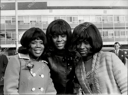 Editorial image of Pop Group Martha And The Vandellas At Lap Martha And The Vandellas (known From 1967 To 1972 As Martha Reeves And The Vandellas) Were An American Vocal Group Who Found Fame In The 1960s With A String Of Hit Singles On Motown's Gordy Label. Founded In