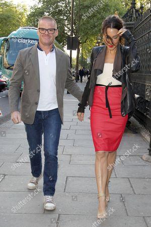 Heston Blumenthal and Suzanne Pirret
