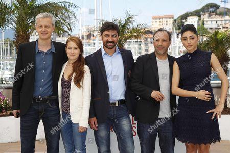 Stock Picture of Veronique Wuthrich, Hiner Saleem, Korkmaz Arslan, Golshifteh Farahami
