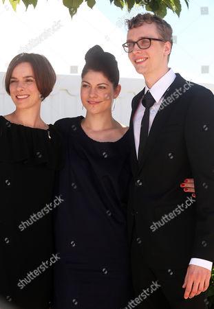 Annika Kuhl, Katrin Gebbe and Julius Feldmeier