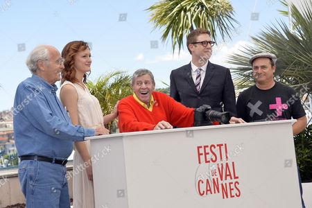 Jerry Lewis, Michel Legrand, Kerry Bishe, director Daniel Noah, Kevin Pollak