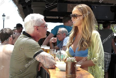 Wayne Lineker and Lauren Pope