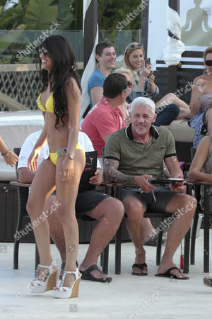 Jasmin Walia and Wayne Lineker
