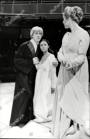 Jacquline Tong And James Maxwell In A Scene From The Winters Tale.