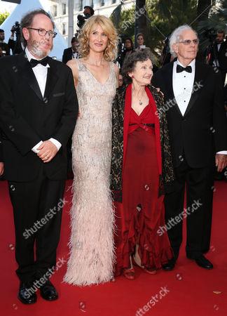 Laura Dern, Angela McEwan, Bruce Dern and guest