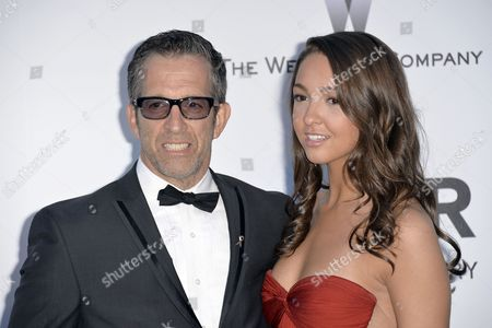 Kenneth Cole and Daughter Catie Cole