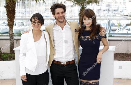 Chloe Robichaud, Jean Sebastien Courchesne and Sophie Desmarais