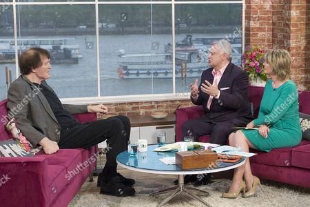 Richard Kiel with Eamonn Holmes and Ruth Langsford
