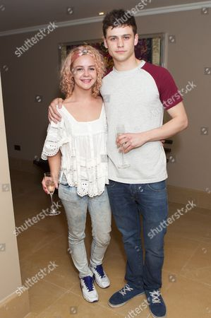 Georgia Henshaw and Tommy Bastow
