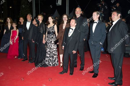 Stock Picture of Roxane Duran, Melusine Mayance, Mads Mikkelsen, Denis Lavant, Amira Casar, Hanne Jacobsen, Delphine Chuillot and Sergi Lopez