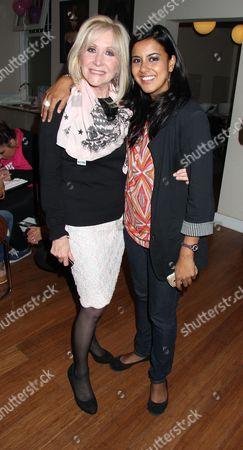 Carol Harrison and Pooja Shah