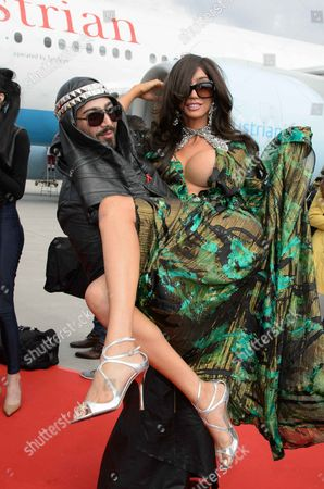 Editorial image of Celebrities arrive for the Life Ball, Vienna, Austria - 24 May 2013