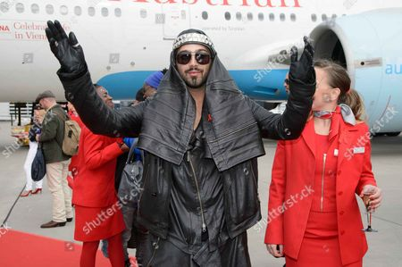 Editorial photo of Celebrities arrive for the Life Ball, Vienna, Austria - 24 May 2013