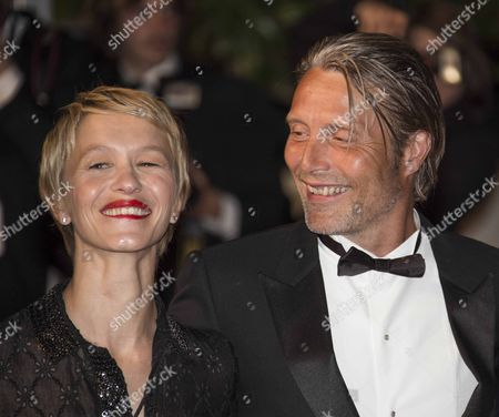 Delphine Chuillot and Mads Mikkelsen