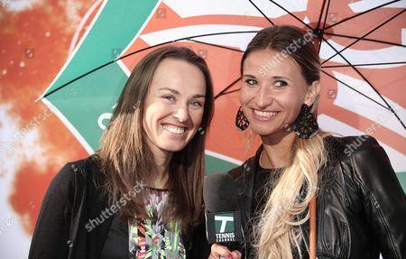 Martina Hingis and Tatiana Golovin