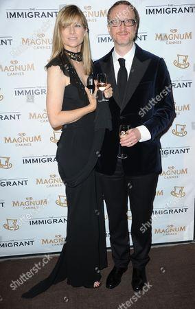 James Gray and his wife Alexandra Dickson Gray
