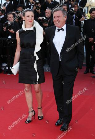 Stock Photo of Aude Ambroggi and Daniel Auteuil