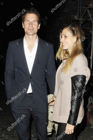 Editorial image of Jens and Conny Lehmann leaving Loulou's Club in Mayfair, London, Britain - 25 May 2013