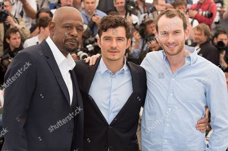 Forest Whitaker and Orlando Bloom with Conrad Kemp