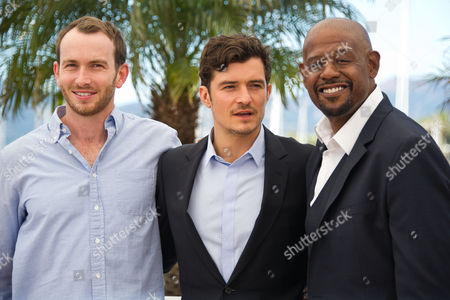 Conrad Kemp, Orlando Bloom and Forest Whitaker