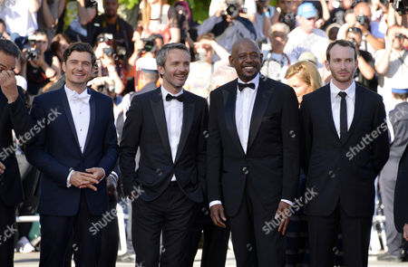 Orlando Bloom, Jerome Salle, Forest Whitaker, Conrad Kemp