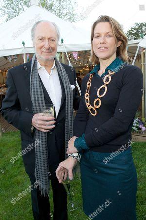 Ed Victor and Stephanie Flanders