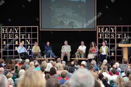 Editorial image of The Hay Festival, Hay-on-Wye, Powys, Wales, Britain - 25 May 2013