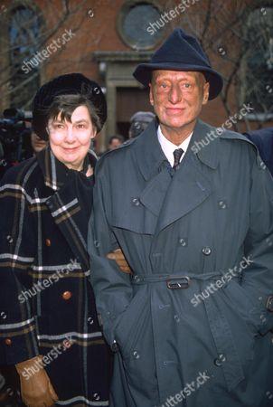 PAUL EDDINGTON AND WIFE