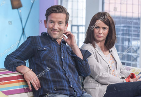 Dean Lennox Kelly and Eve Myles