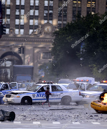 Editorial picture of 'The Amazing Spider-Man 2' film set, New York, America - 26 May 2013
