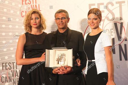 Mona Walravens, Abdellatif Kechiche, Lea Seydoux