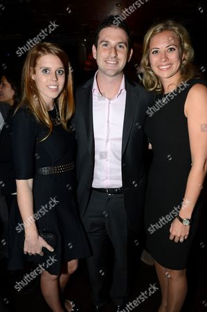 Princess Beatrice, Jared Cohen and Holly Branson