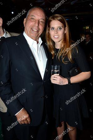 David Reuben and Princess Beatrice