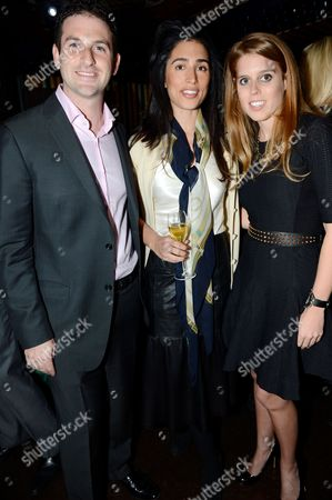 Jared Cohen, Yasmin Dolatabadi and Princess Beatrice