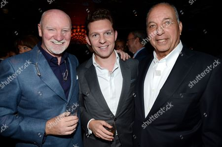 Stock Picture of Sir Tom Hunter, Nick Candy and David Reuben
