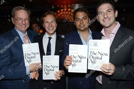 Editorial image of Jamie Reuben hosts 'The New Digital Age' Book Launch for Eric Schmidt at Lou Lou's, London. Britain - 28 May 2013