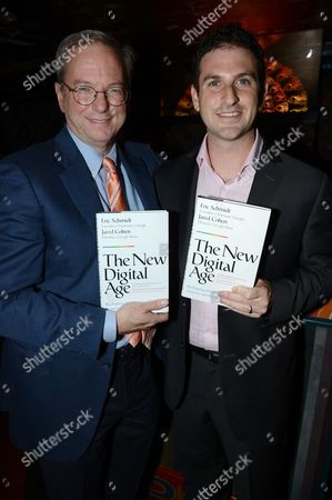 Stock Picture of Jared Cohen and Eric Schmidt