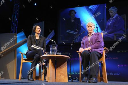 Editorial photo of The Hay Festival, Hay-on-Wye, Powys, Wales, Britain - 27 May 2013