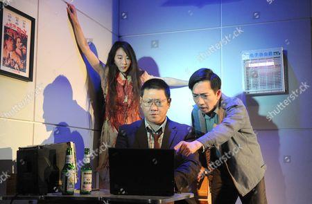 Elizabeth Chan as Liuli, Benedict Wong as Lin, David K S Tse as Wei