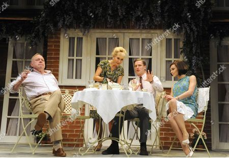 Jonathan Coy as Philip, Felicity Kendal as Sheila, Max Bennett as Greg, Kara Tointon as Ginny
