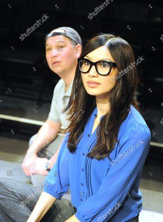 Stock Image of David Yip, Gemma Chan