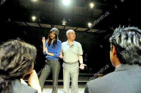 Gemma Chan, David Yip