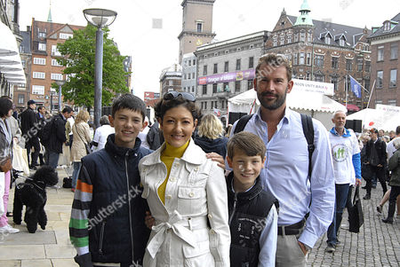 Countess Alexandra of Frederiksborg, Prince Nikolai, Prince Felix and Martin Jorgensen