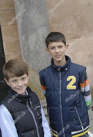 Stock Picture of Prince Felix and Prince Nikolai