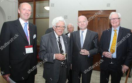Rupert Goodman, Sir Geoffrey Howe, William Hague MP, Douglas Hurd