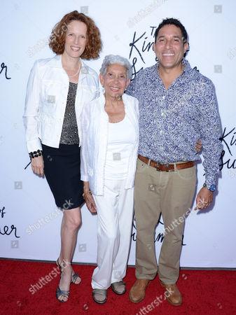 Oscar Nunez, Ursula Whittaker and his mother