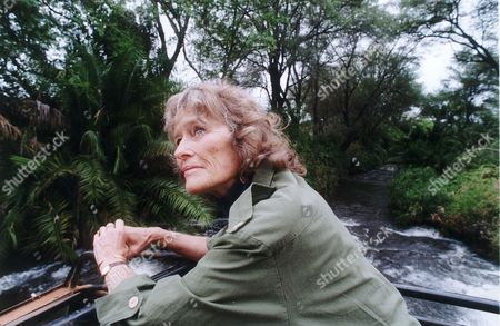 Actress Virginia Mckenna In Meru Kenya Where George Adamson Released 'elsa' The Lion Who Featured In Film 'born Free' Back Into The Wild. She Last Visited Meru 30 Years Ago With Her Late Actor Husband Bill Travers. She Is There Campaigning To Save The Lions.
